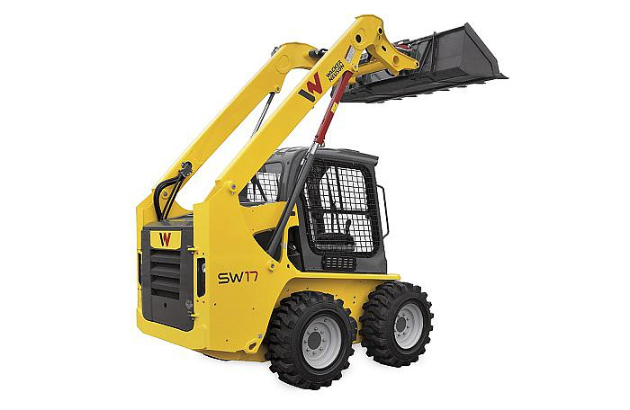 SW17 radial lift skid steer loader