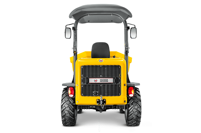wheel dumper dw50 back