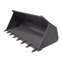 Attachment tools for Telehandlers - General Purpose Bucket with Teeth
