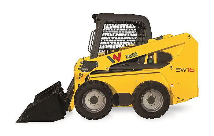 skid steer loader SW16 - side view