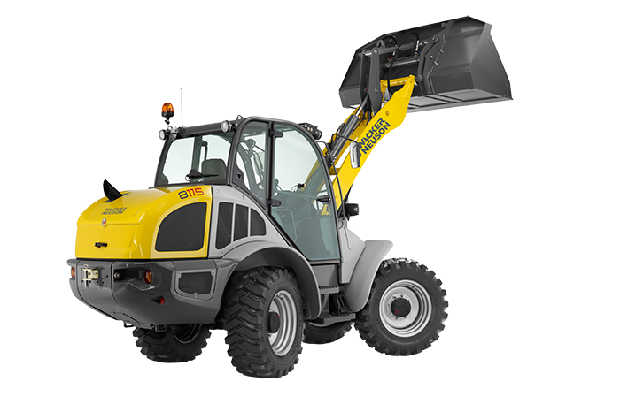 8115L All-Wheel Steer Wheel Loader