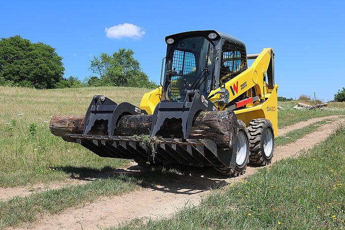 SW20 Vertical Lift Skid Steer Loader with Grapple