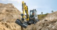 Wacker Neuson EW65 in action