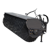 Attachment tools for Telehandlers - Angle Broom
