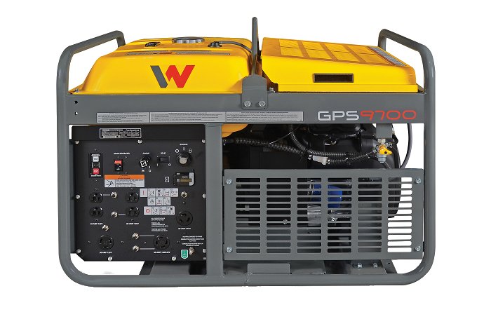 GPS9700A front view