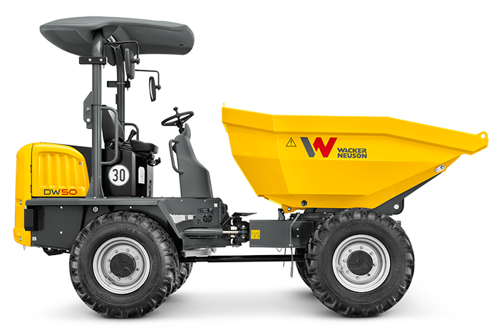 wheel dumper dw50 side