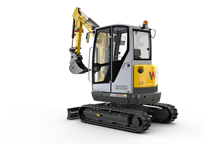 EZ26 zero tail excavator with cabin