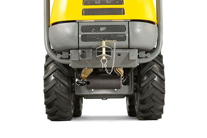 1001 dumper rear view