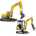 Tracked Conventional Tail Excavators