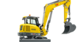 Wacker Neuson EZ80 with optional available counterweight