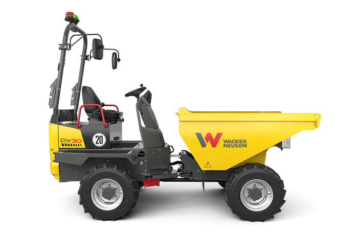 DW30 Wheel Dumper with front tip skip