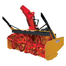 Attachment tools for Wheel Loaders - Industrial Duty High Flow Snow Blower