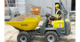 wheel dumper 4001 in action