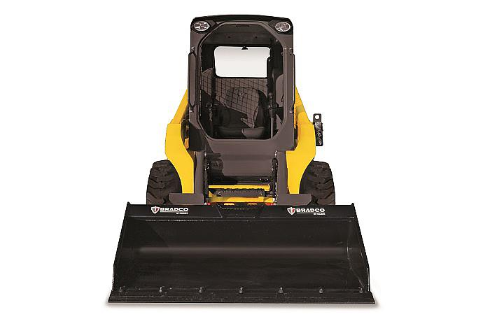 skid steer loader SW16 - front with bucket