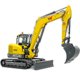 Tracked Zero Tail Excavators - EZ80
