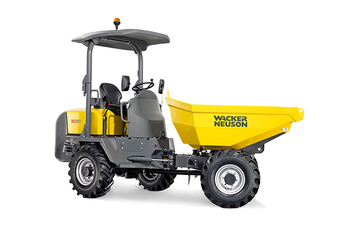 wacker neuson wheel dumper 3001
