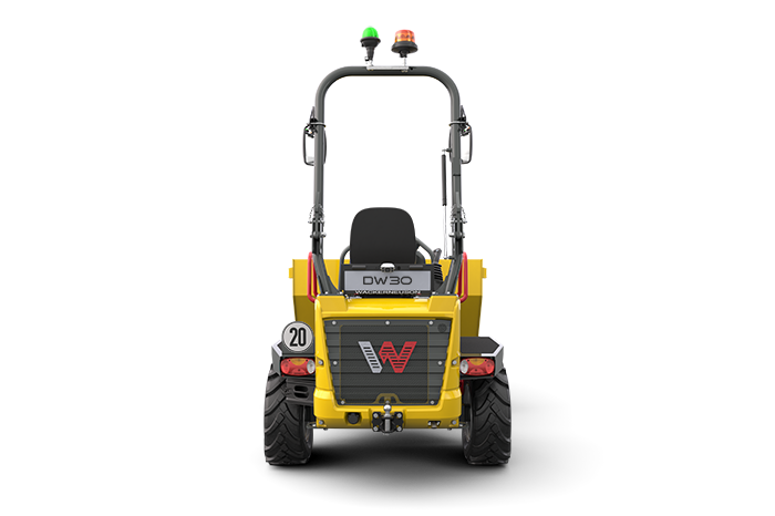 DW30 Wheel Dumper rear