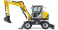 Wacker Neuson EW100 side view