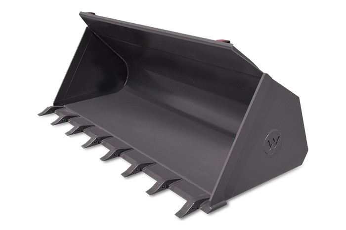General Purpose Bucket with Teeth