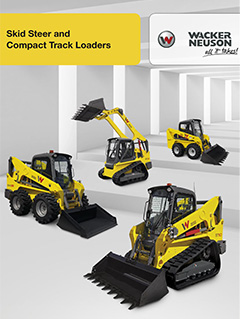 Wacker Neuson Skid Steer Loaders - built in America