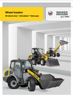 Wacker Neuson Wheel Loaders brochure
